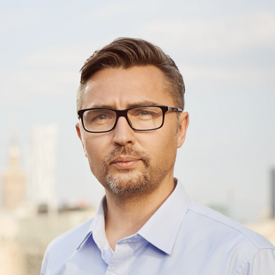 Photo of Marcin Zabielski, Managing Partner at Market One Capital