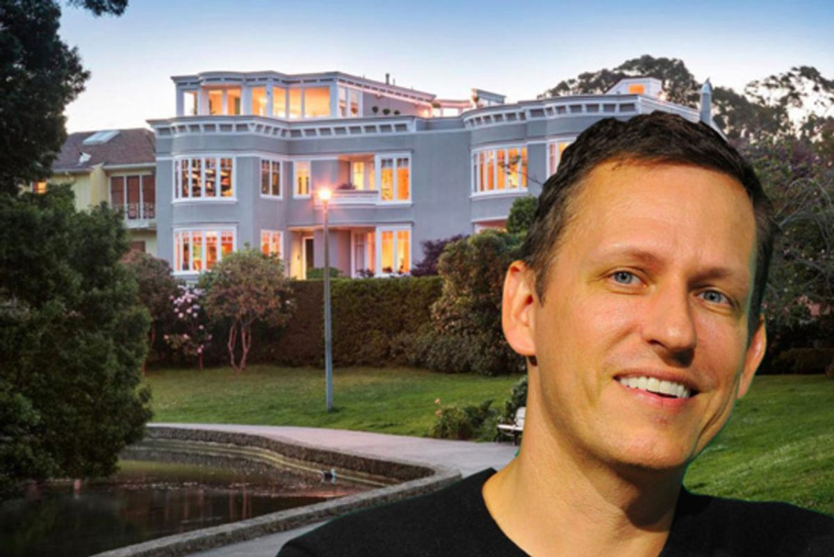 Photo of Peter Thiel, Partner at Founders Fund