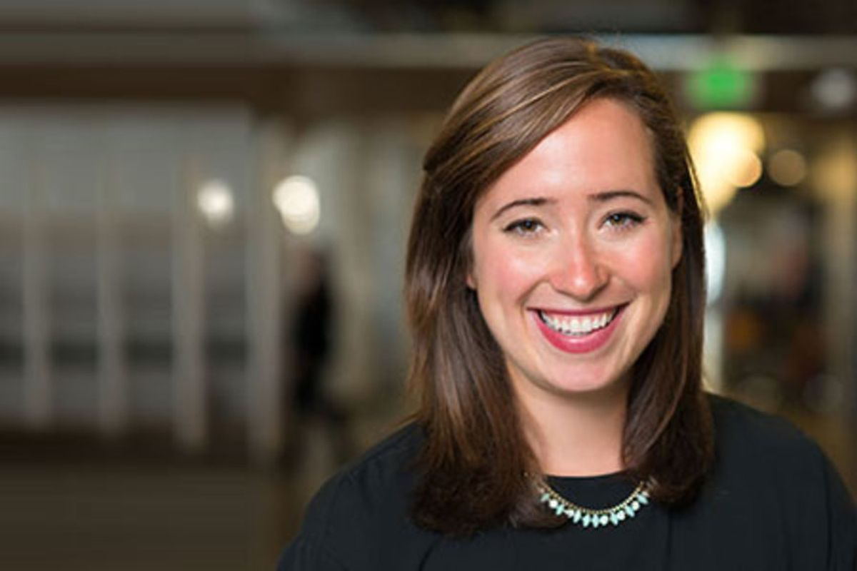 Photo of Katie Doherty, Managing Partner at Runway Incubator and Accelerator