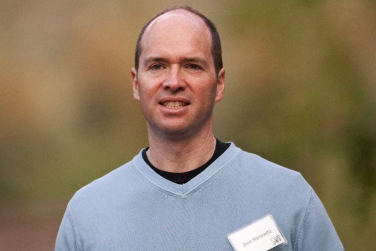 Photo of Ben Horowitz, General Partner at Andreessen Horowitz