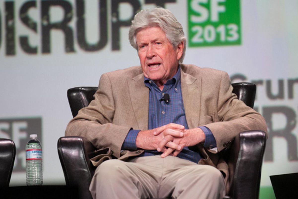 Photo of Donald Valentine, Managing Partner at Sequoia Capital