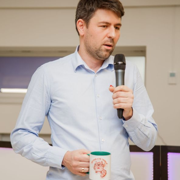 Photo of Dmytro Dvurechenskyi, Vice President at OpenGeeksLab