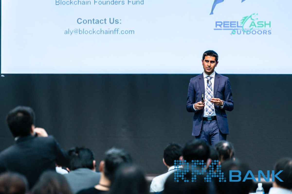Photo of Aly Madhavji, Blockchain Founders Fund