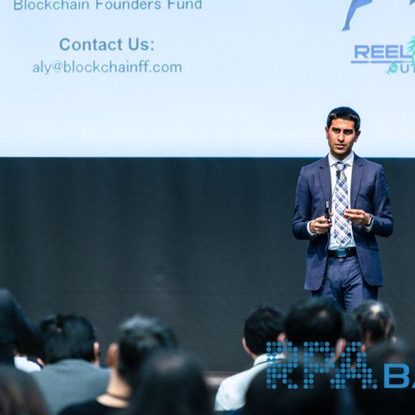 Photo of Aly Madhavji, Blockchain Founders Fund